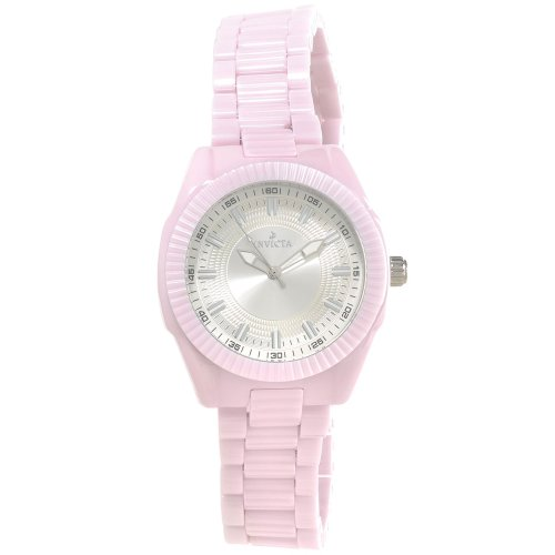 腕時計 インヴィクタ インビクタ レディース 【送料無料】Invicta Women's 15317 Ceramics Quartz Chronograph Silver Dial Watch [Watch] I...腕時計 インヴィクタ インビクタ レディース