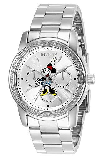 インヴィクタ インビクタ 腕時計 レディース Invicta Women's Disney Minnie Mouse Limited Edition Quartz Watch with Stainless Steel Strap, Silver, 20 (Model: 29247)インヴィクタ インビクタ 腕時計 レディース