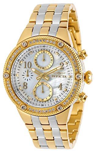 インヴィクタ インビクタ 腕時計 レディース 【送料無料】Invicta Women's Angel Quartz Watch with Stainless Steel Strap, Two Tone, 21 (Model: 29530)インヴィクタ インビクタ 腕時計 レディース