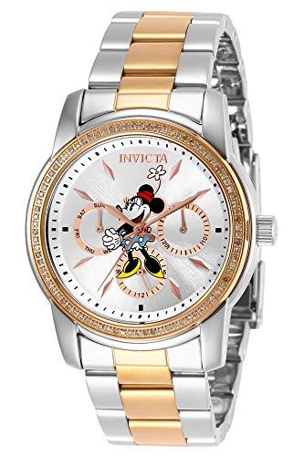 インヴィクタ インビクタ 腕時計 レディース Invicta Women's Disney Minnie Mouse Limited Edition Quartz Watch with Stainless Steel Strap, Two Tone, 20 (Model: 29248)インヴィクタ インビクタ 腕時計 レディース