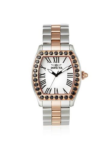 インヴィクタ インビクタ 腕時計 レディース 【送料無料】Invicta Women's 14532 Angel White Textured Dial Stainless Steel Watchインヴィクタ インビクタ 腕時計 レディース