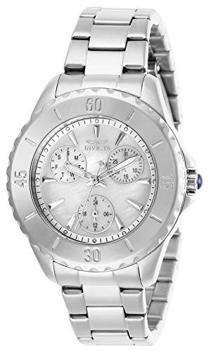 インヴィクタ インビクタ 腕時計 レディース 【送料無料】Invicta Women's Angel Quartz Watch with Stainless Steel Strap, Silver, 18 (Model: 29106)インヴィクタ インビクタ 腕時計 レディース