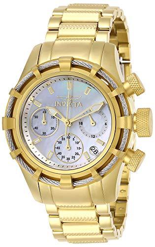 無料ラッピングでプレゼントや贈り物にも 逆輸入並行輸入送料込 腕時計 インヴィクタ インビクタ レディース 送料無料 Invicta 最安値に挑戦 Women's Bolt Model: 20 おしゃれ 27492 Quartz Steel Stainless Watch Strap with Gold