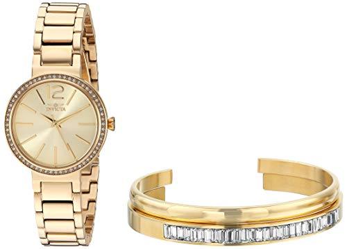 インヴィクタ インビクタ 腕時計 レディース 【送料無料】Invicta Women's Angel Quartz Watch with Stainless Steel Strap, Gold, 13 (Model: 29269)インヴィクタ インビクタ 腕時計 レディース