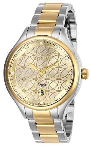 インヴィクタ インビクタ 腕時計 レディース 【送料無料】Invicta Women's Angel Quartz Watch with Stainless Steel Strap, Two Tone, 16 (Model: 27435)インヴィクタ インビクタ 腕時計 レディース