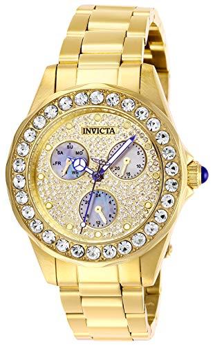 インヴィクタ インビクタ 腕時計 レディース 【送料無料】Invicta Women's Angel Quartz Watch with Stainless Steel Strap, Gold, 18 (Model: 28462)インヴィクタ インビクタ 腕時計 レディース