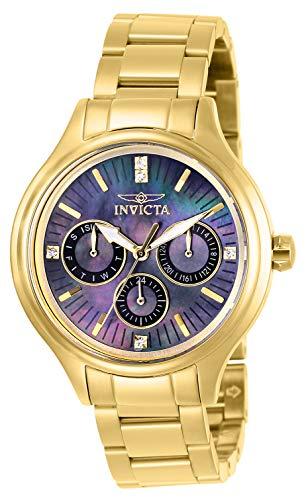 インヴィクタ インビクタ 腕時計 レディース 【送料無料】Invicta Women's Angel Quartz Watch with Stainless Steel Strap, Gold, 16 (Model: 28735)インヴィクタ インビクタ 腕時計 レディース