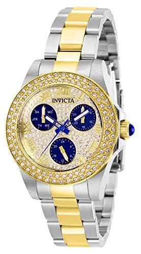 インヴィクタ インビクタ 腕時計 レディース 【送料無料】Invicta Women's Angel Quartz Watch with Stainless Steel Strap, Two Tone, 16 (Model: 28476)インヴィクタ インビクタ 腕時計 レディース