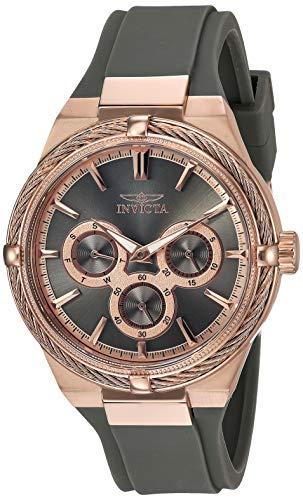インヴィクタ インビクタ 腕時計 レディース 【送料無料】Invicta Women's Bolt Stainless Steel Quartz Watch with Polyurethane Strap, Gray, 18.4 (Model: 28911)インヴィクタ インビクタ 腕時計 レディース