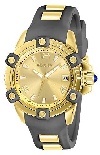 インヴィクタ インビクタ 腕時計 レディース Invicta Women's Pro Diver Stainless Steel Quartz Watch with Silicone Strap, Charcoal, 20 (Model: 27974)インヴィクタ インビクタ 腕時計 レディース