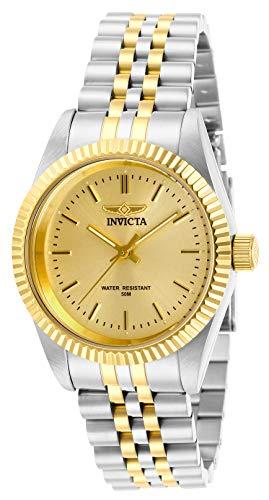 インヴィクタ インビクタ 腕時計 レディース 【送料無料】Invicta Women's Specialty Quartz Watch with Stainless Steel Strap, Two Tone, 18 (Model: 29405)インヴィクタ インビクタ 腕時計 レディース