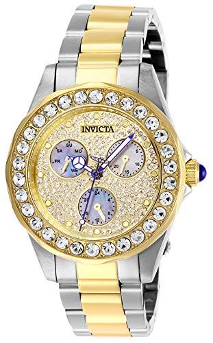 インヴィクタ インビクタ 腕時計 レディース 【送料無料】Invicta Women's Angel Quartz Watch with Stainless Steel Strap, Silver and Gold, 18 (Model: 28459)インヴィクタ インビクタ 腕時計 レディース