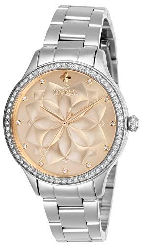 インヴィクタ インビクタ 腕時計 レディース 【送料無料】Invicta Women's Wildflower Quartz Watch with Stainless Steel Strap, Silver, 16 (Model: 28053)インヴィクタ インビクタ 腕時計 レディース