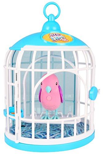 リトルライブペッツ ぬいぐるみ リアル 動く 鳴く 【送料無料】Little Live Pets S2 Bird with Cage, Krissy Crystalリトルライブペッツ ぬいぐるみ リアル 動く 鳴く