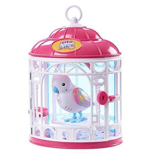 リトルライブペッツ ぬいぐるみ リアル 動く 鳴く 【送料無料】Little Live Pets Bird with Cage - Secret Angieリトルライブペッツ ぬいぐるみ リアル 動く 鳴く