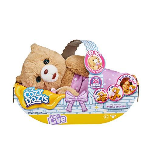 リトルライブペッツ ぬいぐるみ リアル 動く 鳴く 【送料無料】Little Live Pets Cozy Dozy Cubbles The Bear, Multicolorリトルライブペッツ ぬいぐるみ リアル 動く 鳴く