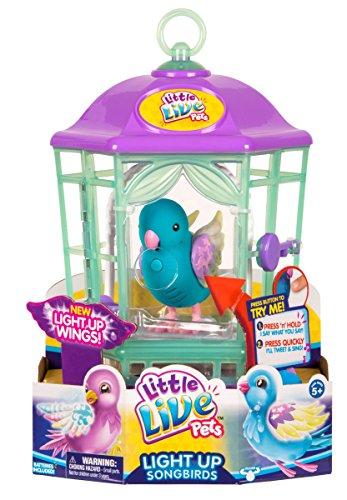 リトルライブペッツ ぬいぐるみ リアル 動く 鳴く 【送料無料】Little Live Pets Bird with Cage-Twinkle Tweets Childrens Toyリトルライブペッツ ぬいぐるみ リアル 動く 鳴く