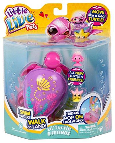 リトルライブペッツ ぬいぐるみ リアル 動く 鳴く 【送料無料】Little Live Pets S6 Turtle Single Pack-Sandy The Tropical Children's Toyリトルライブペッツ ぬいぐるみ リアル 動く 鳴く
