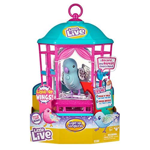 リトルライブペッツ ぬいぐるみ リアル 動く 鳴く 【送料無料】Little Live Pets Bird Cage - Snow Gleamリトルライブペッツ ぬいぐるみ リアル 動く 鳴く