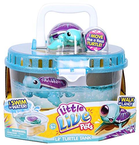 リトルライブペッツ ぬいぐるみ リアル 動く 鳴く 【送料無料】Little Live Pets S3 Lil' Turtle Tankリトルライブペッツ ぬいぐるみ リアル 動く 鳴く