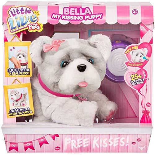 無料ラッピングでプレゼントや贈り物にも。逆輸入・並行輸入多数 リトルライブペッツ ぬいぐるみ リアル 動く 鳴く Little Live Pets Bella My Kissing Puppy Dog Interactive Plush Palリトルライブペッツ ぬいぐるみ リアル 動く 鳴く