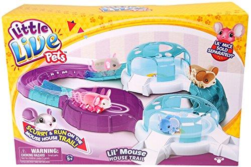 リトルライブペッツ ぬいぐるみ リアル 動く 鳴く 【送料無料】Little Live Pets Lil' Mouse Trailリトルライブペッツ ぬいぐるみ リアル 動く 鳴く