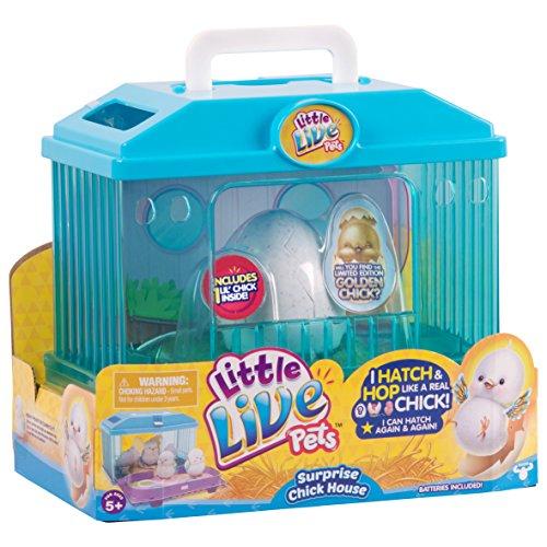 リトルライブペッツ ぬいぐるみ リアル 動く 鳴く 【送料無料】Little Live Pets Season 1 Baby Chick Habitat Toyリトルライブペッツ ぬいぐるみ リアル 動く 鳴く