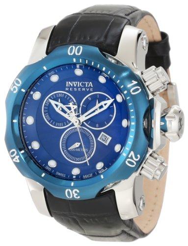 インヴィクタ インビクタ リザーブ 腕時計 メンズ 10821 【送料無料】Invicta Men's 10821 Venon Reserve Chronograph Royal Blue Textured Dial Watchインヴィクタ インビクタ リザーブ 腕時計 メンズ 10821