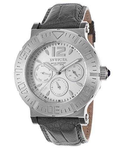 インヴィクタ インビクタ 腕時計 レディース #N/A 【送料無料】Invicta Specialty Multi-Function Silver Dial Grey Leather Ladies Watch 14919インヴィクタ インビクタ 腕時計 レディース #N/A