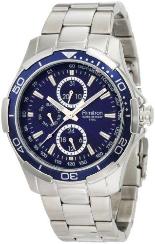 腕時計 アーミトロン メンズ 20/4677BLSV 【送料無料】Armitron Men's 204677BLSV Stainless Steel Bracelet Watch腕時計 アーミトロン メンズ 20/4677BLSV