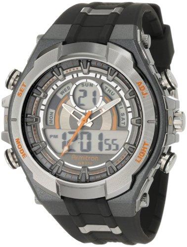 アーミトロン 腕時計 メンズ 20/4589ORGY Armitron Sport Men's 204589ORGY Watch with Black Bandアーミトロン 腕時計 メンズ 20/4589ORGY