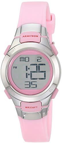 腕時計 アーミトロン レディース 45/7012PNK 【送料無料】Armitron Sport Women's 45/7012PNK Chronograph Pink Digital Watch腕時計 アーミトロン レディース 45/7012PNK