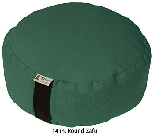 逆輸入 ヨガ フィットネス Bean Products Zafu - XL Oval Bean - FOREST - GREEN - Buckwheat Fill 10oz Cotton Made in USAヨガ フィットネス, シンゴウムラ:15e022b3 --- supervision-berlin-brandenburg.com