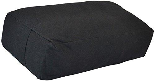 ヨガ フィットネス Y042BOLBLA03 【送料無料】YogaAccessories Supportive Rectangular Cotton Yoga Bolster - Blackヨガ フィットネス Y042BOLBLA03