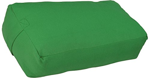 ヨガ フィットネス Y042BOLGRE03 【送料無料】YogaAccessories Supportive Rectangular Cotton Yoga Bolster - Greenヨガ フィットネス Y042BOLGRE03