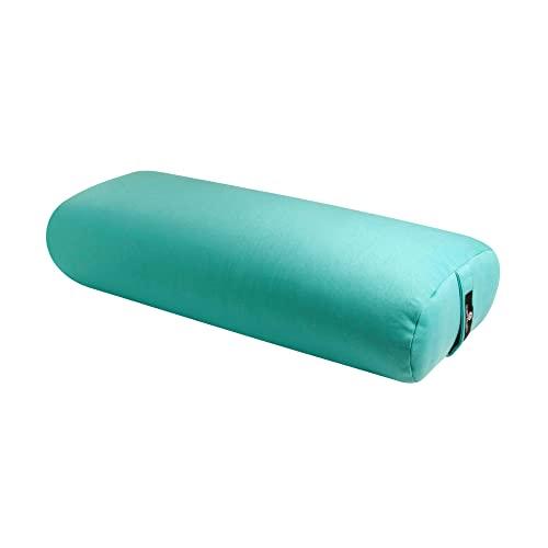 ヨガ フィットネス BO-STNDRD-SOLID-AQUA Hugger Mugger Standard Yoga Bolster, Aquaヨガ フィットネス BO-STNDRD-SOLID-AQUA