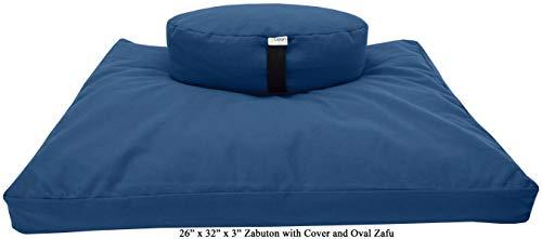 ヨガ フィットネス Bean Products Royal Blue Oval 14