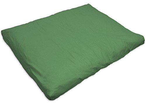 ヨガ フィットネス 【送料無料】YogaAccessories Cotton Zabuton Meditation Cushion - Greenヨガ フィットネス
