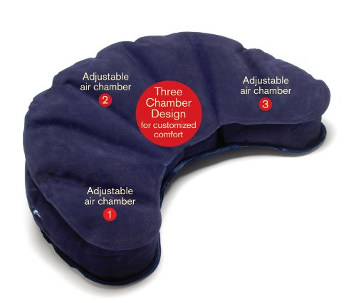 ヨガ フィットネス 【送料無料】Mobile Meditator Inflatable Meditation Cushion and Travel Pillow - Purpleヨガ フィットネス