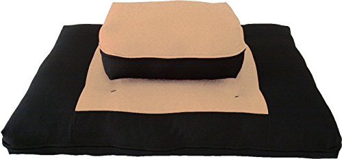 ヨガ フィットネス 【送料無料】D&D Futon Furniture Zabuton Zafu Set, Yoga, Meditation Seat Cushions, Kneeling, Sitting, Supporting Exercise Pratice Zabuton & Zafu Cushions. (Peach)ヨガ フィットネス