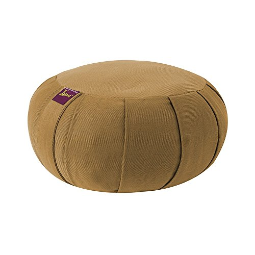 ヨガ フィットネス Yogavni-Zafu-Round-Cotton-Russet Round Zafu Cushion for Yoga and Meditation, Natural Cotton Filled by Yogavni(TM) (Russet)ヨガ フィットネス Yogavni-Zafu-Round-Cotton-Russet
