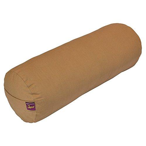 ヨガ フィットネス Yogavni-Bolster-Round-Large-Russet 【送料無料】YogavniTM Round Yoga Bolster - Removable Canvas Cover, Natural Cotton Filler (Russet-Beige)ヨガ フィットネス Yogavni-Bolster-Round-Large-Russet