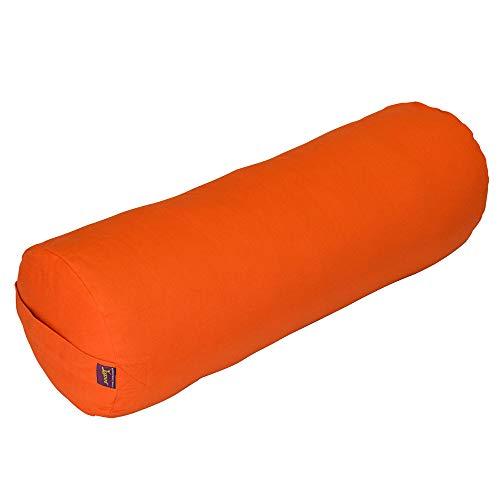 ヨガ フィットネス Yogavni-Bolster-Round-Large-Sinopia 【送料無料】Yogavni(TM) Round Yoga Bolster - Removable Canvas Cover, Natural Cotton Filler (Sinopia)ヨガ フィットネス Yogavni-Bolster-Round-Large-Sinopia