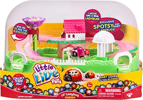 リトルライブペッツ ぬいぐるみ リアル 動く 鳴く 【送料無料】Little Live Pets Lil' Ladybug Garden - Spotsy & Babyリトルライブペッツ ぬいぐるみ リアル 動く 鳴く