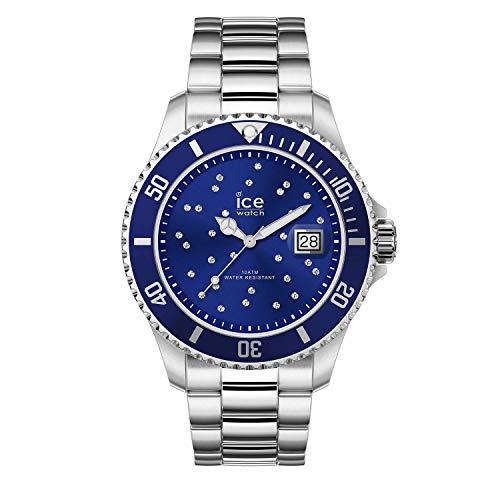 アイスウォッチ 腕時計 レディース かわいい 【送料無料】Ice-Watch Ice Steel Blue Cosmos Silver Stainless Steel Women's Watch 016773アイスウォッチ 腕時計 レディース かわいい