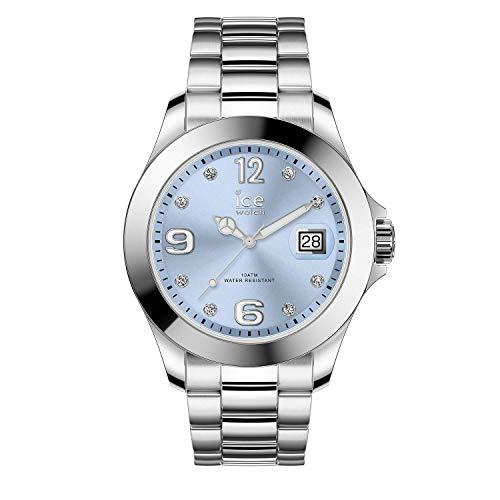 アイスウォッチ 腕時計 レディース かわいい 【送料無料】Ice-Watch Ice Steel Light Blue Silver Stainless Steel Women's Watch 016775アイスウォッチ 腕時計 レディース かわいい