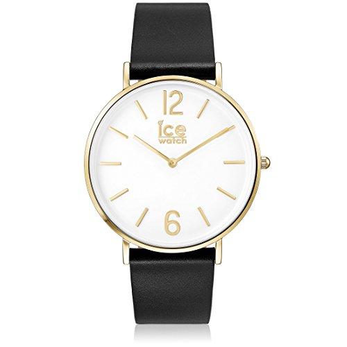 アイスウォッチ 腕時計 レディース かわいい 夏の腕時計特集 【送料無料】Ice-Watch 001516 City-Tanner Exclusive Black Leather Strap Watchアイスウォッチ 腕時計 レディース かわいい 夏の腕時計特集