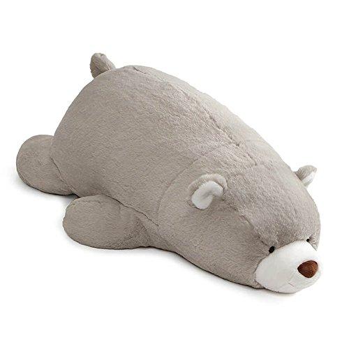 ガンド ぬいぐるみ リアル お世話 かわいい 【送料無料】GUND Snuffles Laying Down Teddy Bear Stuffed Animal Plush, Gray, 27