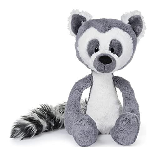 ガンド ぬいぐるみ リアル お世話 かわいい GUND Toothpick Casey Lemur Plush Stuffed Animal, 黒 and 白い, 15