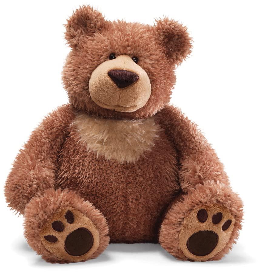 ガンド ぬいぐるみ リアル お世話 かわいい 【送料無料】GUND Slumbers Teddy Bear Stuffed Animal Plush, Brown, 17